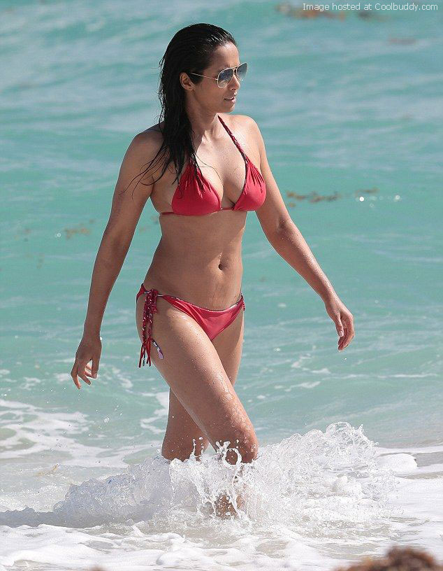 Topic, very padma lakshmi topless beach apologise, too