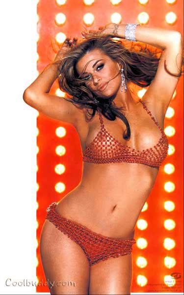 Carmen electra in lingerie spust truc